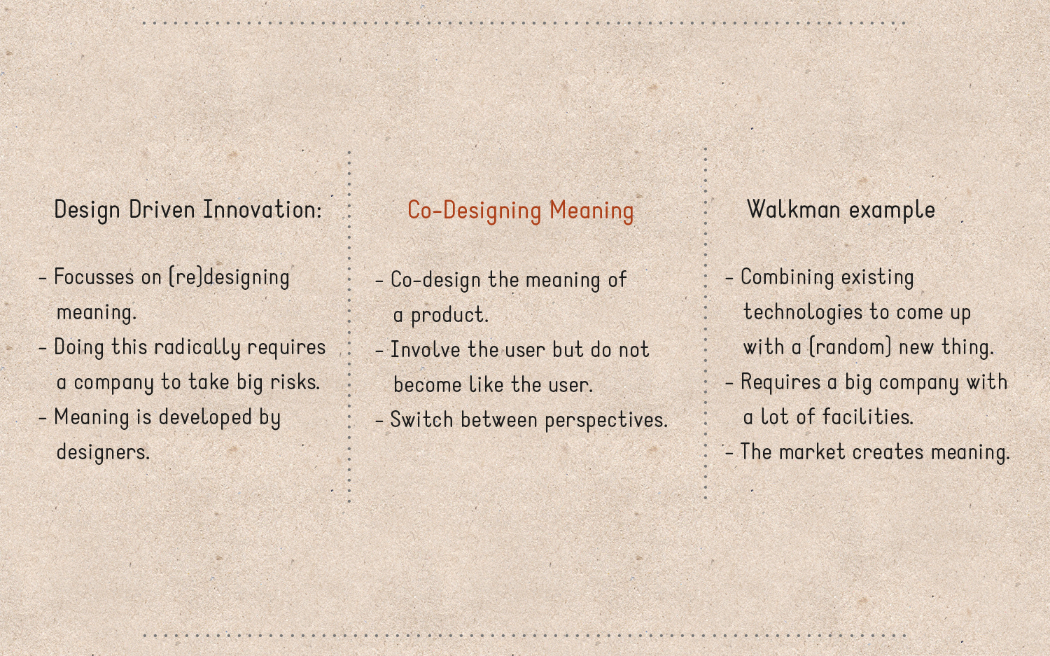 design driven innovation vs user driven The strategy of design-driven innovation and user-centered perspectives have recently provided powerful methods for understanding how users (currently.